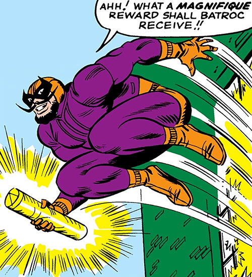 Batroc leaps away with Inferno 42 (Marvel Comics Captain America)