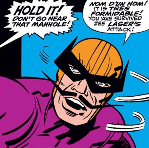 Batroc during the 1960s