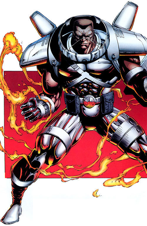 Battalion (Image Comics) in armor