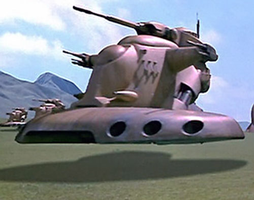 Battle Droid Federation hover vehicle (Star Wars episode 1)