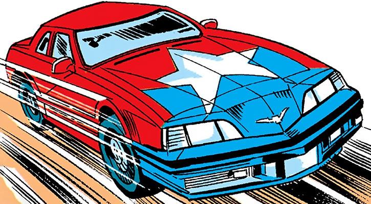 Battlestar's car