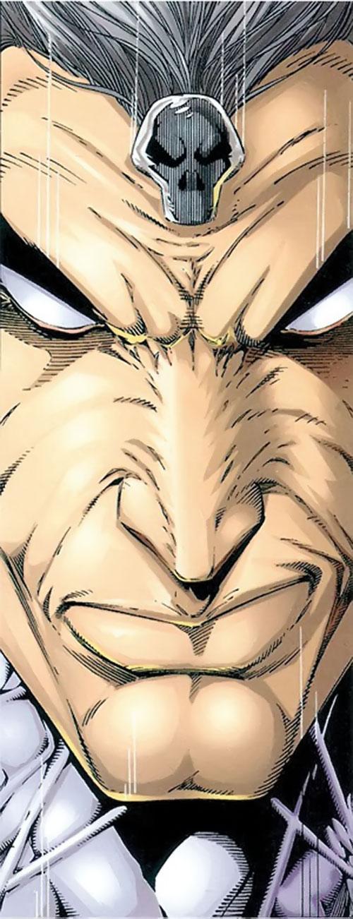 Battlestone (Image Comics) face closeup