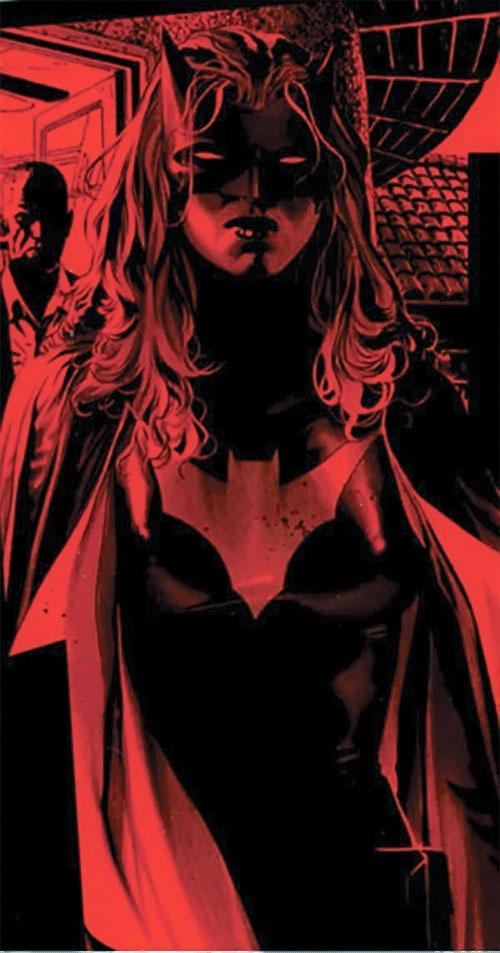Batwoman (Katherine Kane) (DC Comics modern) dark red art