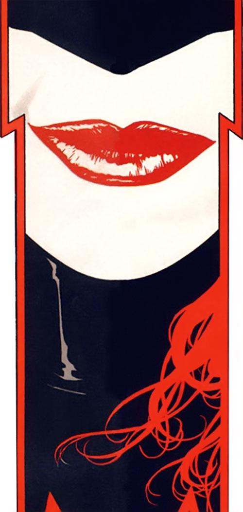 Batwoman (Katherine Kane) (DC Comics modern) smile closeup