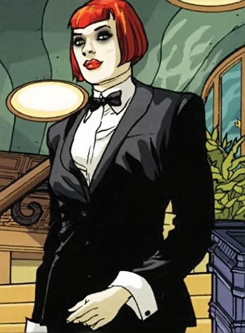 Batwoman (Katherine Kane) (DC Comics modern) in a tuxedo