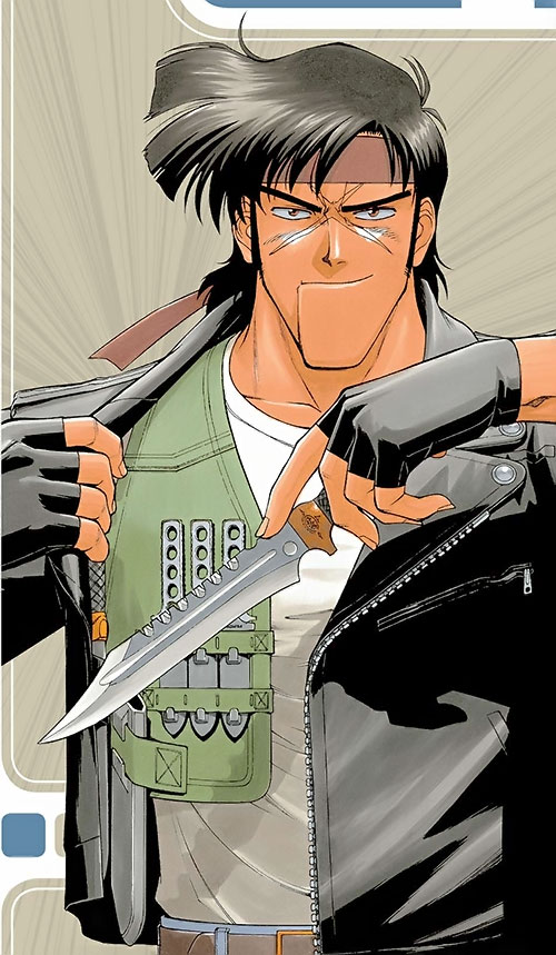 Bean Bandit (Gunsmith Cats manga) knives