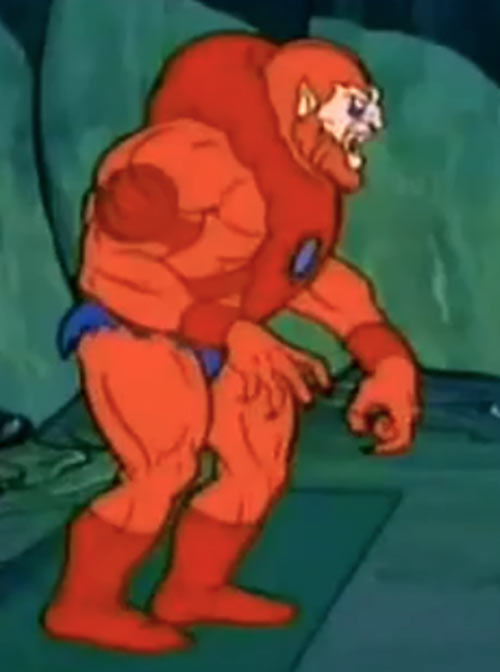 Beast-Man (He-Man and the Masters of the Universe cartoon) side view
