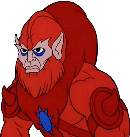 Beast-Man (He-Man and the Masters of the Universe cartoon) portrait