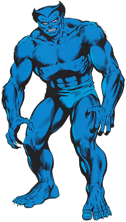 Beast (Marvel Comics) (X-Men) from the handbook