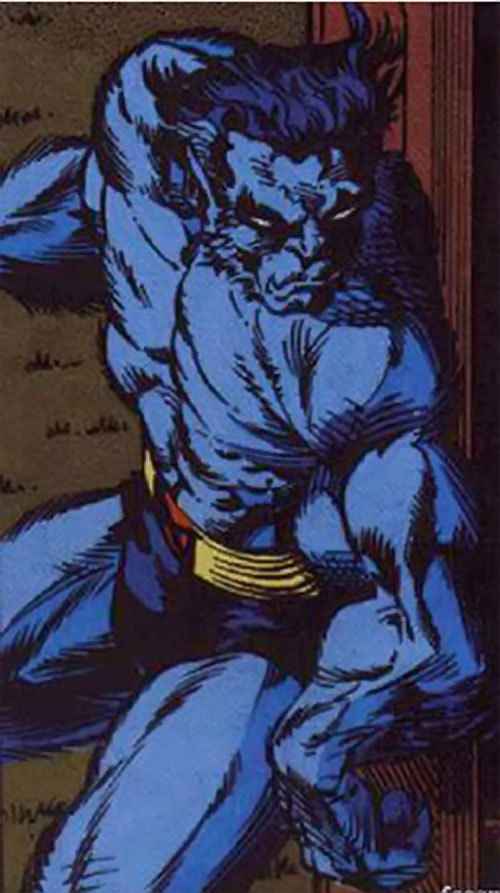 Beast (Marvel Comics) (X-Men) sneaking around