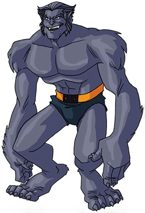 Beast (Marvel Comics) (X-Men) by RonnieThunderbolts 6/10