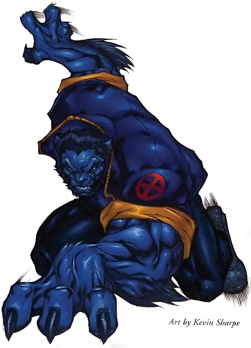 Beast (Marvel Comics) (X-Men) by Kevin Sharpe