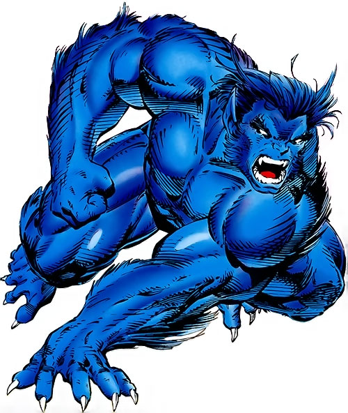 Beast (X-Men) (Marvel Comics) by Jim Lee