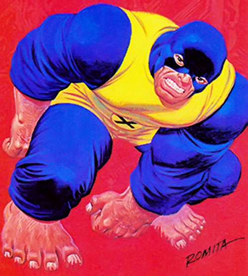 Early Beast (X-Men) (Marvel Comics) by Romita