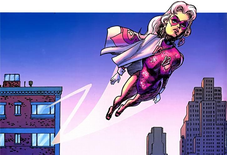 Beautie flies over Astro City