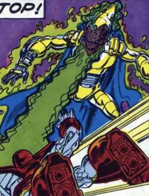 Bedlam the Brain-Blast (Alpha Flight enemy) (Marvel Comics) vs. Box