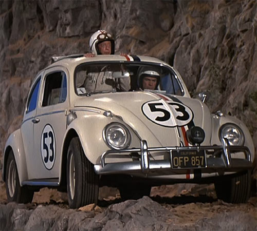 Herbie - Love bug -VW Beetle -Disney movies - Drivers