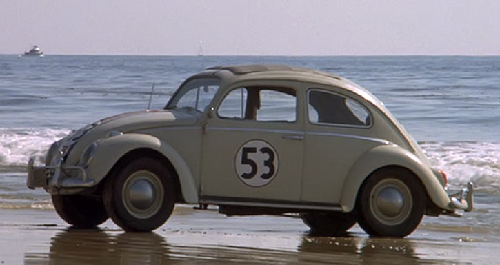 Herbie - Love bug -VW Beetle -Disney movies - Beach photo