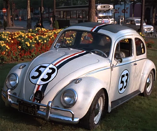 Herbie - Love bug -VW Beetle -Disney movies