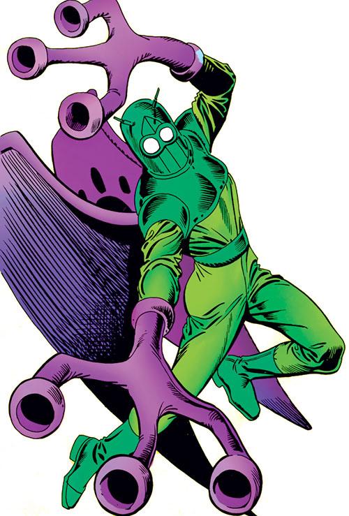 Beetle (Marvel Comics) (Abner Jenkins) classic armor