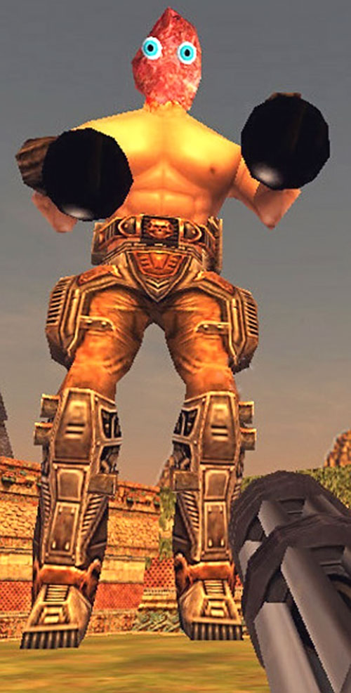 Secret mighty giant kamikaze in Serious Sam