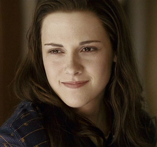 Bella Swan (Kristen Stewart in Twilight) (Early) odd smile