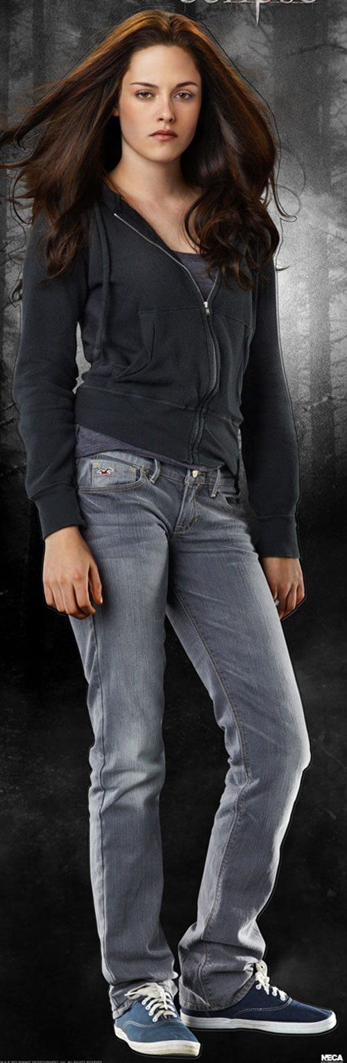 Bella Swan (Kristen Stewart in Twilight) (Early) jeans and hoodie