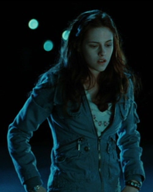 Bella Swan (Kristen Stewart in Twilight) (Early) at night