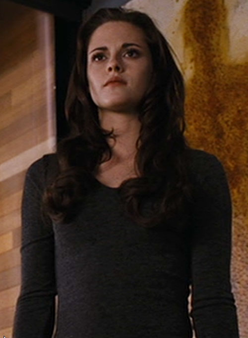 Bella (Kristen Stewart in Twilight) (Later) in a tight sweater