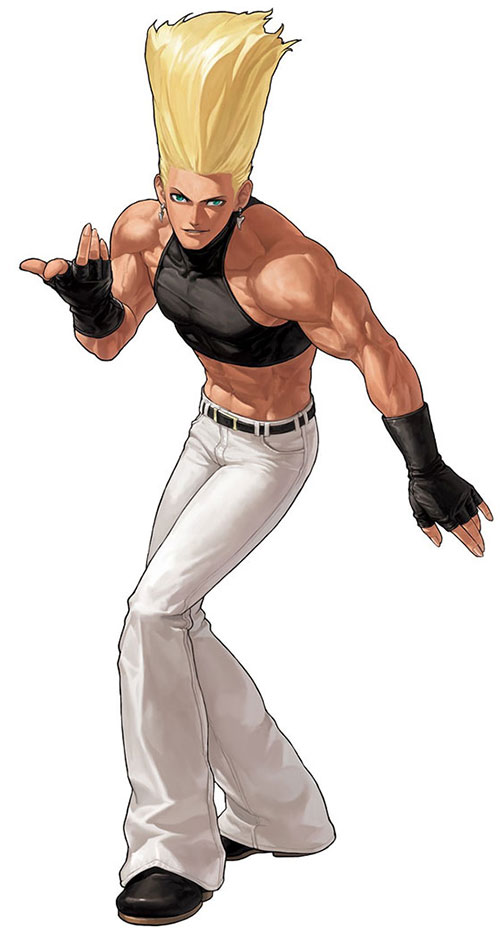 Benimaru Nikaido (King of Fighters) ready to fight