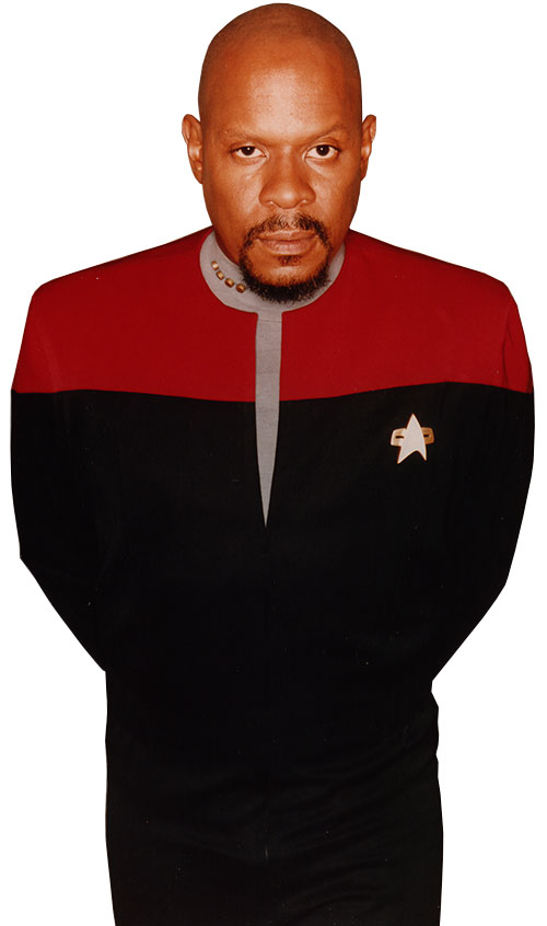 Captain Benjamin Sisko (Avery Brooks in Star Trek)