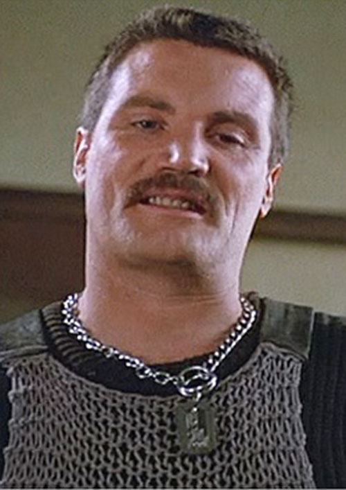 Bennett (Vernon Wells in Commando) face closeup