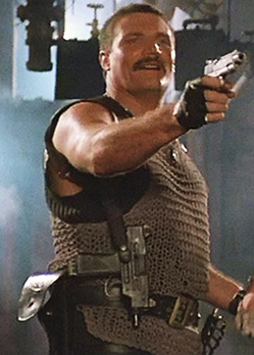 Bennett (Vernon Wells in Commando)