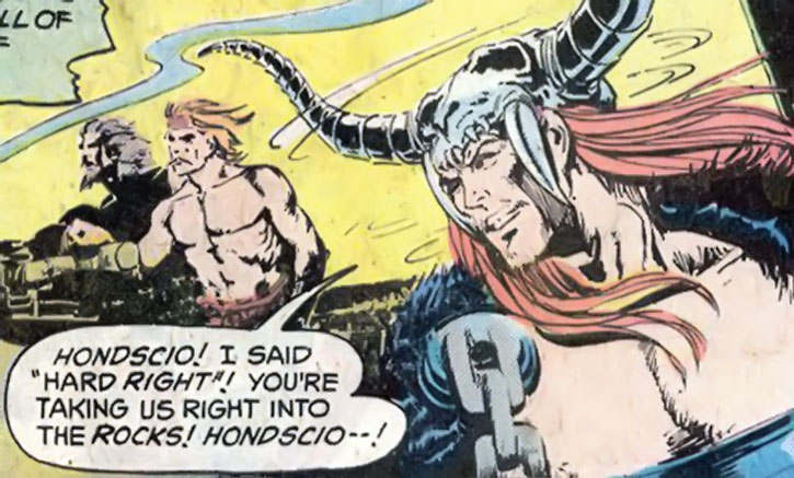 Hondscio and Beowulf