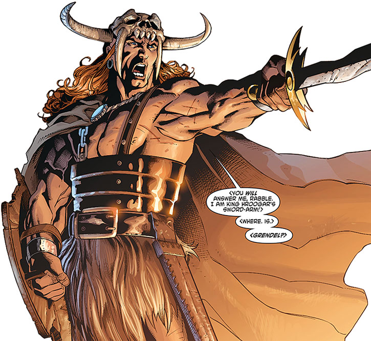 Beowulf in his Wonder Woman appearances