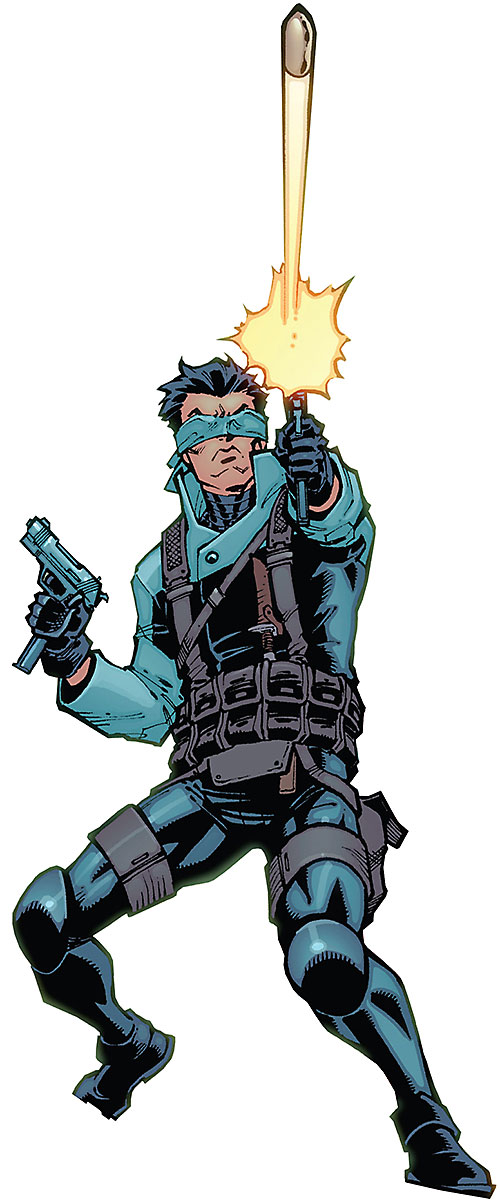 Best Tiger of the Guardians of the Globe (Invincible Comics Image) firing a bullet