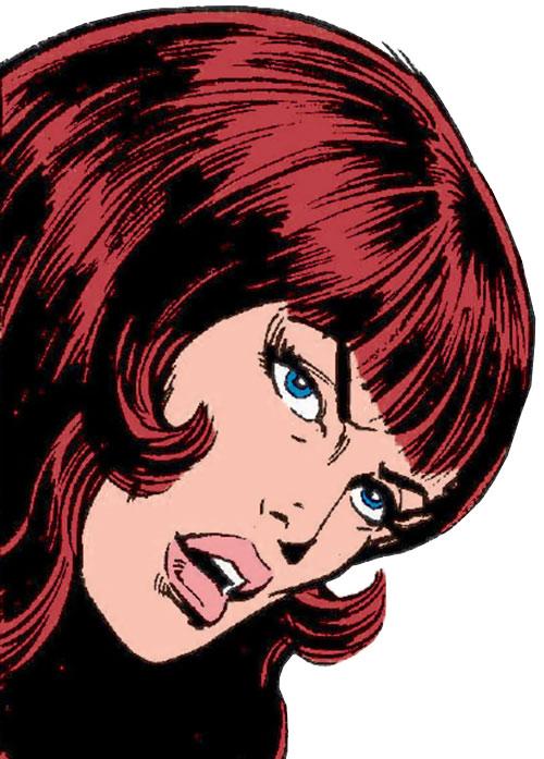 Bethany Cabe (Marvel Comics) face closeup