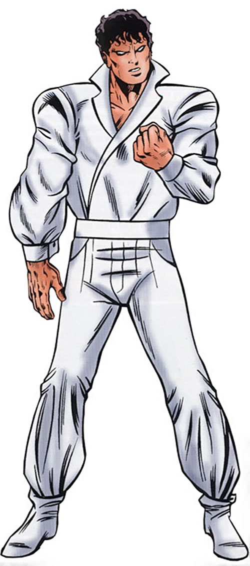 The Beyonder (Marvel Comics) in his white jumpsuit