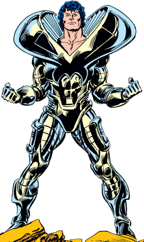 The Beyonder (Marvel Comics) in his battle armor