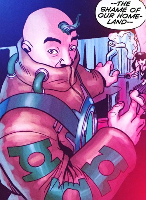 Big Atomic Lantern Boy of Super-Young Team (DC Comics) (Japan)