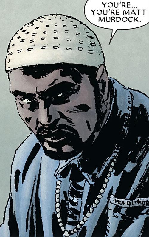 Big Ben Donovan (Daredevil character) with a prayer hat