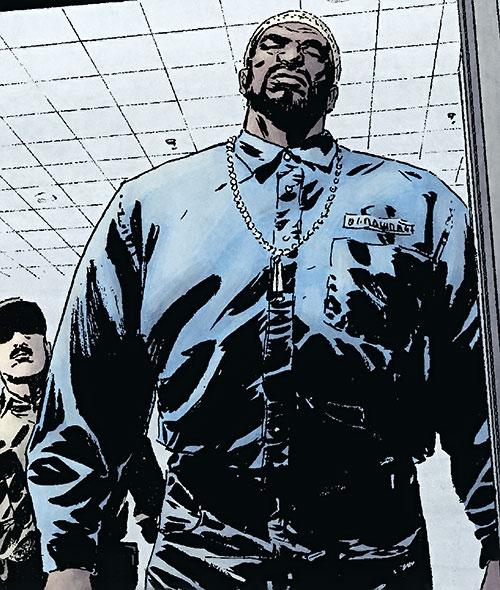 Big Ben Donovan (Daredevil character) in a prison uniform