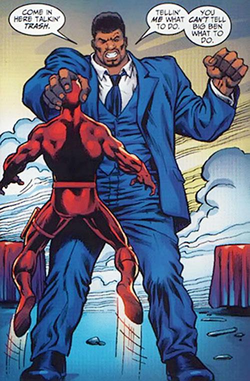 Big Ben (Marvel Comics) apocryphal #1 vs. Daredevil