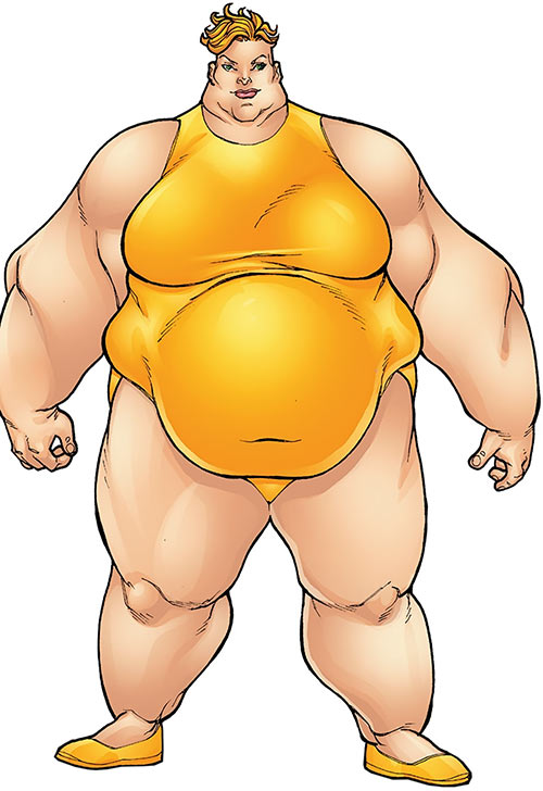Big Bertha of the Great Lakes Avengers (Marvel Comics)