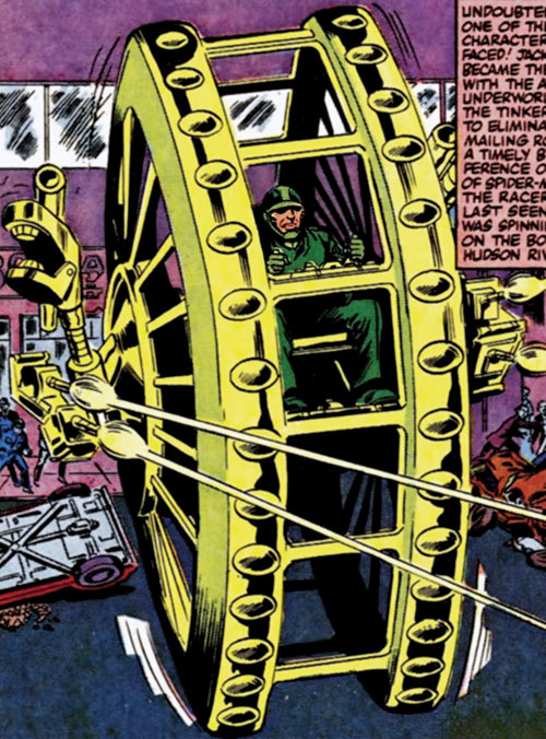 Big Wheel (Marvel Comics) (Spider-Man enemy)