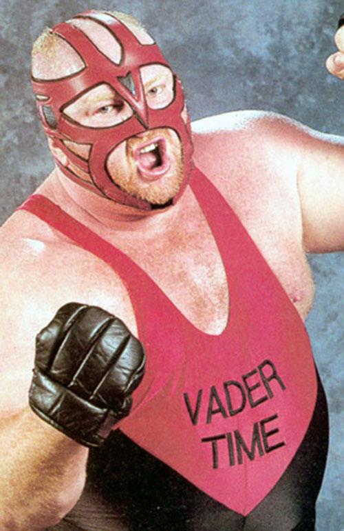 Big van Vader high angle shot