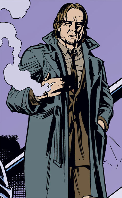 Bigby Wolf from Fables (DC Comics) as a detective