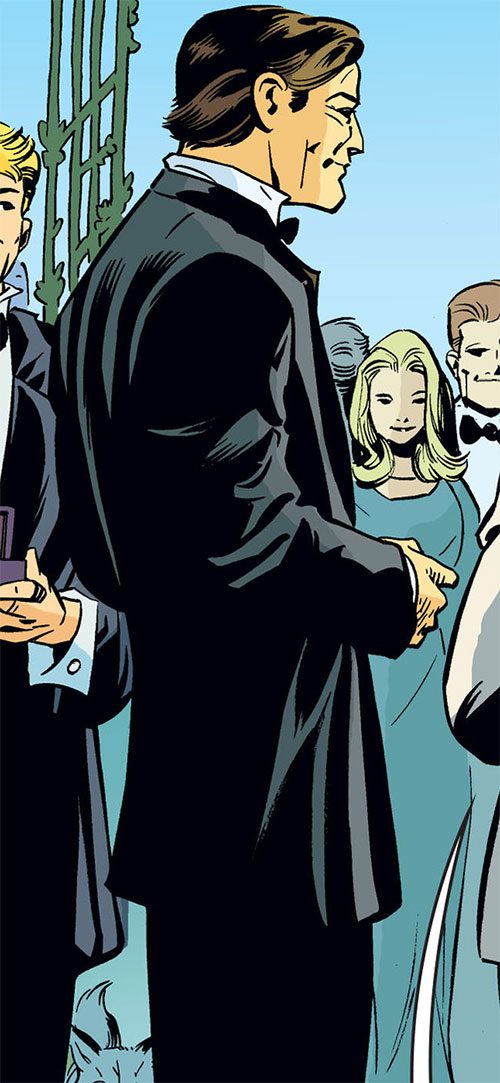 Bigby Wolf from Fables (DC Comics) in a tuxedo