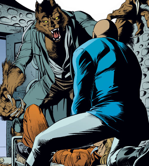 Bigby Wolf from Fables (DC Comics) in hybrid form