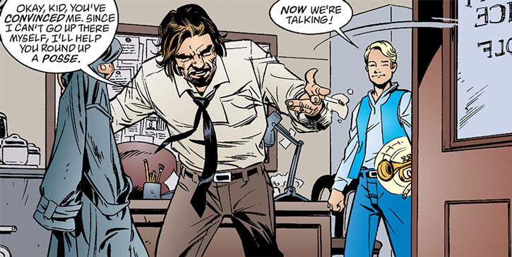 Bigby Wolf and Boy Blue